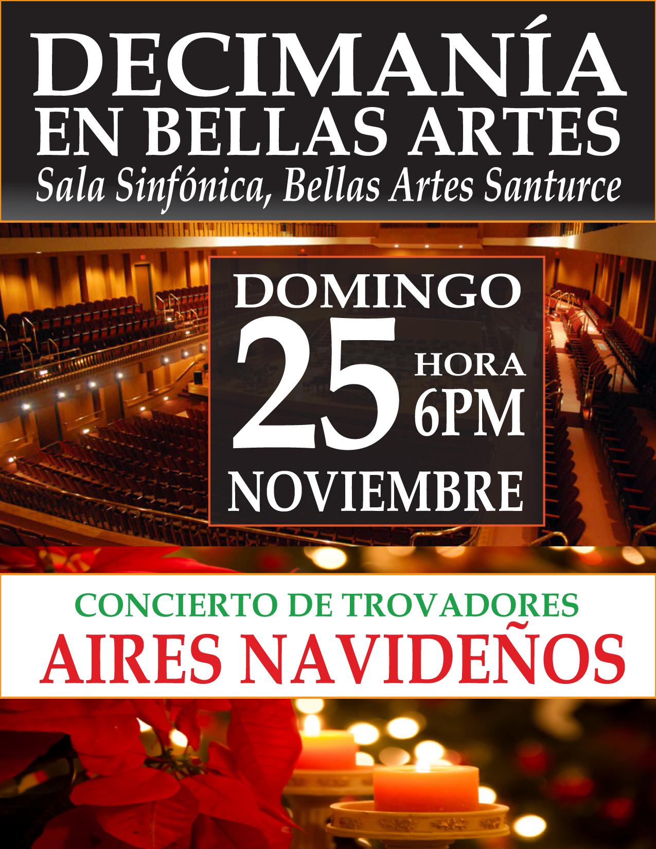 Decimania Aires Navidenos Centro De Bellas Artes Luis A Ferre - Centro-navideos